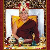 His Holiness the Sakya Trizin