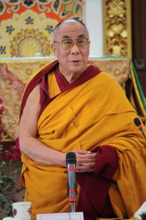 His Holiness the Dalai Lama in March 2009