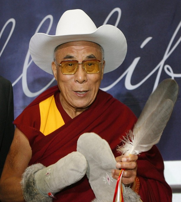 Cowboy Hat to welcome His Holiness the Dalai Lama 79812f18828e
