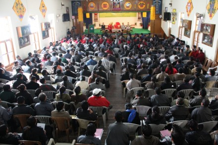 The Fifth Tibetan General Conference on Education from 27 - 29 December 2009 under way at lower TCV school  in Dharamsala, India/Photos by Sangey Kyap