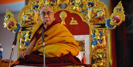 His Holiness the Dalai Lama starts a five-day teaching series in Bodh Gaya, Bihar, India, on 5 January 2010/ Photo: Office of His Holiness the Dalai Lama