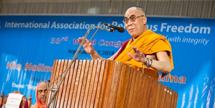 (Photo courtesy: Office of His Holiness the Dalai Lama)
