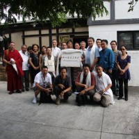 Members of the newly formed Chinese-Tibetan Friendship Association in Auckland,
