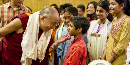 His Holiness the Dalai Lama in New Delhi to deliver the a lecture in honour of former Indian President