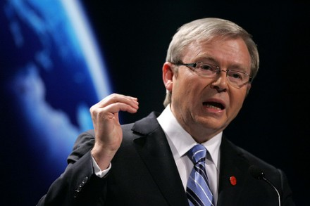 Foreign Minister Kevin Rudd/File
