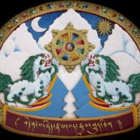 The emblem of the Central Tibetan Administration