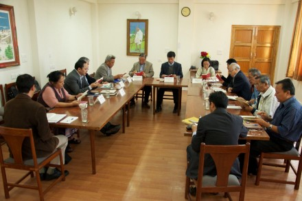 The first meeting of the Task Force on Negotiations (TFN) since His Holiness the Dalai Lama devolved his political
