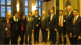 Sikyong Dr Lobsang Sangay and Representative Penpa Tsering with Mr Arif Virani, chair of CPFT and other members of Canadian Parliamentary Friends of Tibet (CPFT).
