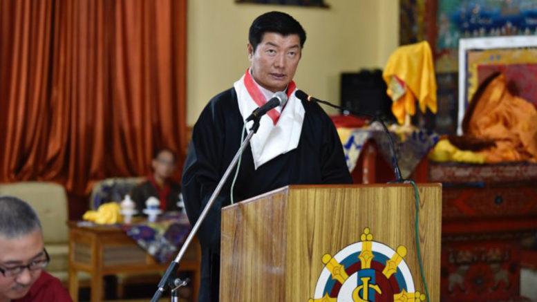 CTA President greets Sakya Tibetan Society Puruwala on its