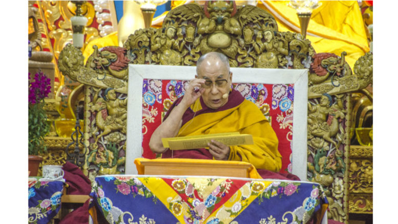 His Holiness the Dalai Lama begins teachings on Essence of the